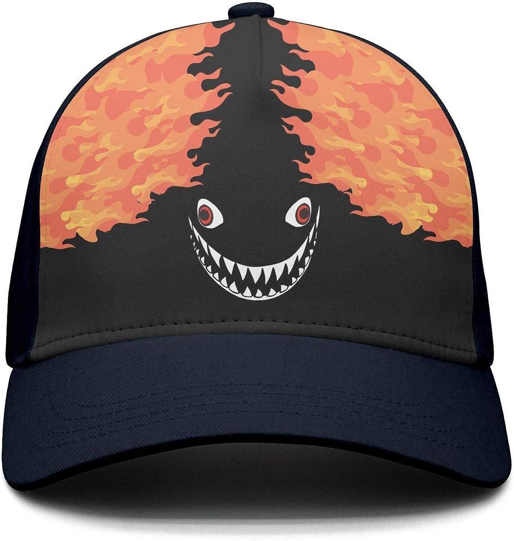 Unisex Ocean Life Shark Tooth Baseball Cap Style hat Adjustable Mesh Breathable caps