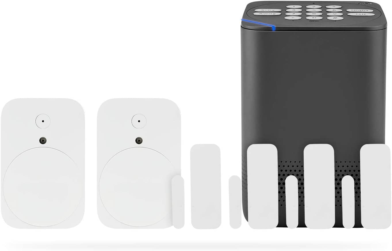 Blue by ADT Starter Plus System – Easy, DIY Setup – Optional 24/7 Professional Monitoring – No Term Contracts – Alexa Compatible