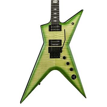 Dean Guitars Dimebag Darrell STHF DS de cuerpo sólido de la guitarra eléctrica, Dime limo: Amazon.es: Instrumentos musicales
