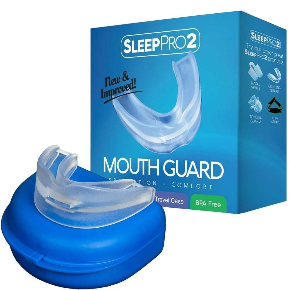 SleepPro(TM) Sleep Aid Custom Night Mouth Guard SleepProTM