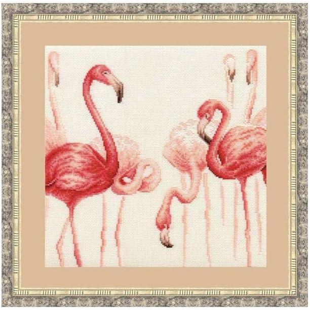 Cross Stitch Kit Flamingo 3