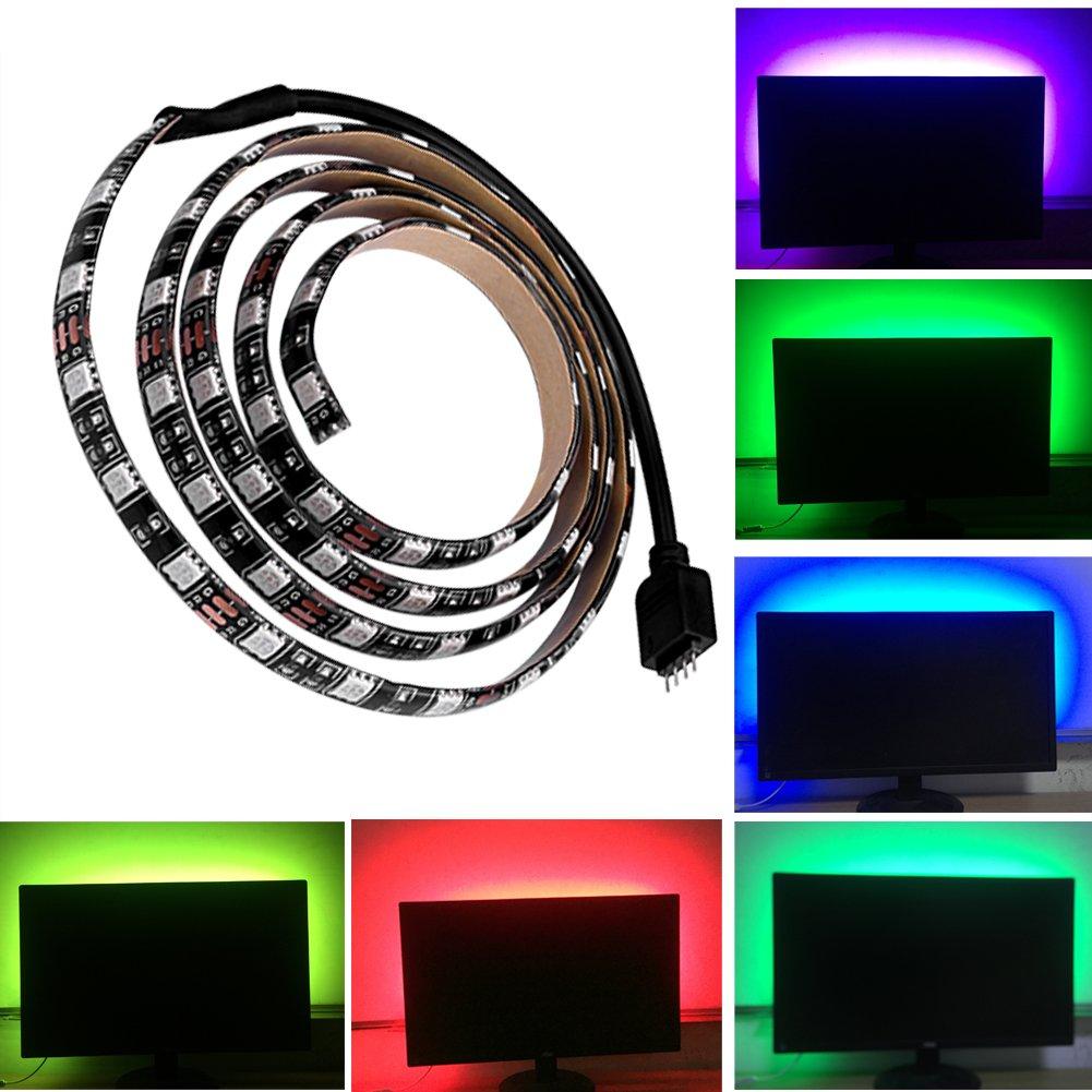 SIENOC 5V 5050 60 SMD / M RGB LED Barra...