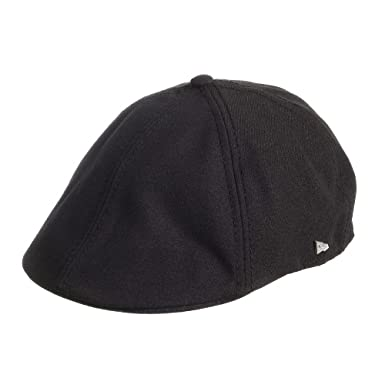 c2bfe528f0b New Era Ek Runty Flat Cap Black Medium - 58cm  Amazon.co.uk  Clothing
