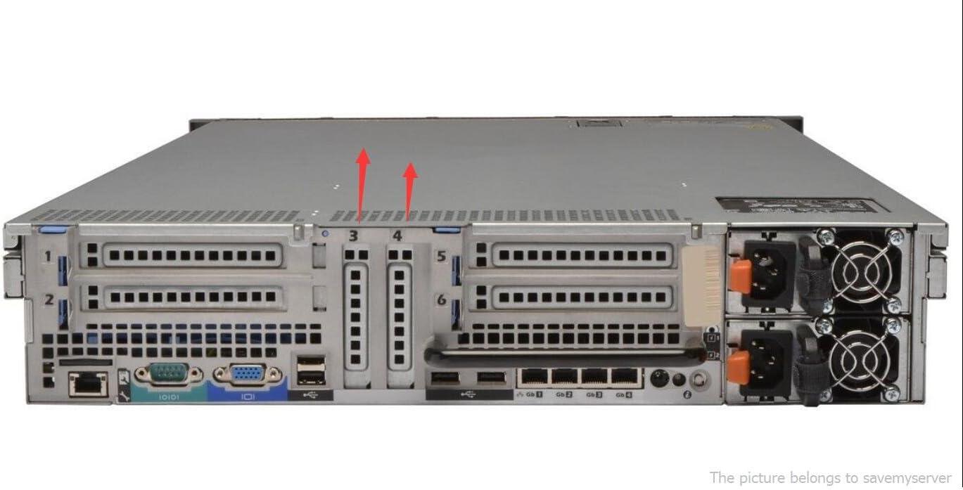 DELL 2U PowerEdge PCI Blank Slot Cover R810/R815/R620/Vent 0y431g y431g 1 unit