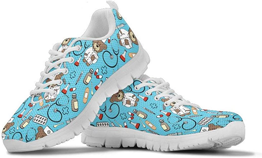 POLERO Sneaker Zapatillas de Deporte Nurse Bear Serie para Dama ...