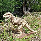 Design Toscano Bad to the Bone, Jurassic T-Rex Raptor Dinosaur Statue For Sale