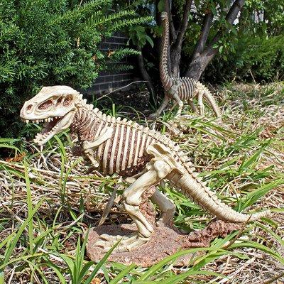 Design Toscano Bad To The Bone  Jurassic T Rex Raptor Dinosaur Statue