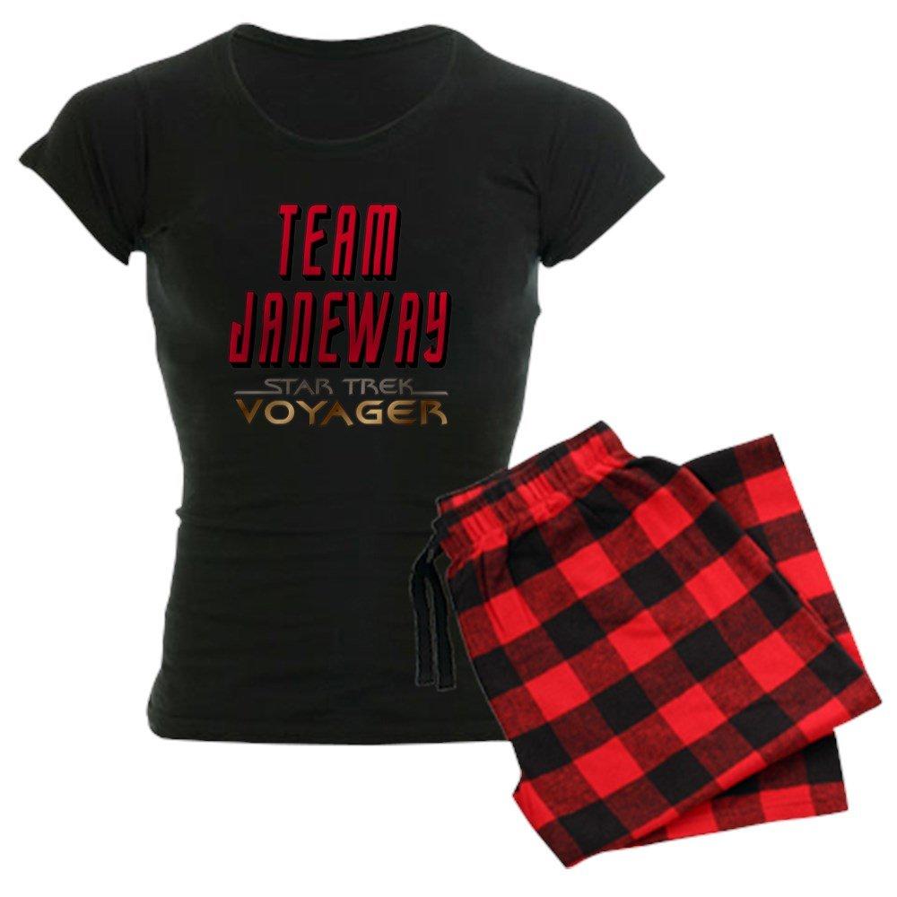 Team Janeway Star Trek Voyager Womens Dark Pajama Womens Pajama Set CafePress