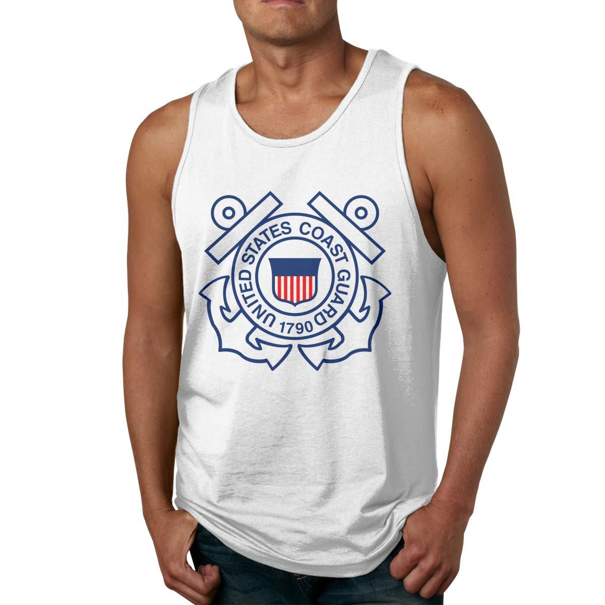 San Francisco Fleet Week Logo Mens Printed Vest Sports Tank-Top Tee Leisure Sleeveless Shirt
