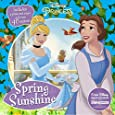 Spring Sunshine: Includes a Press-out Scene and over 40 Stickers! (Disney Princess)