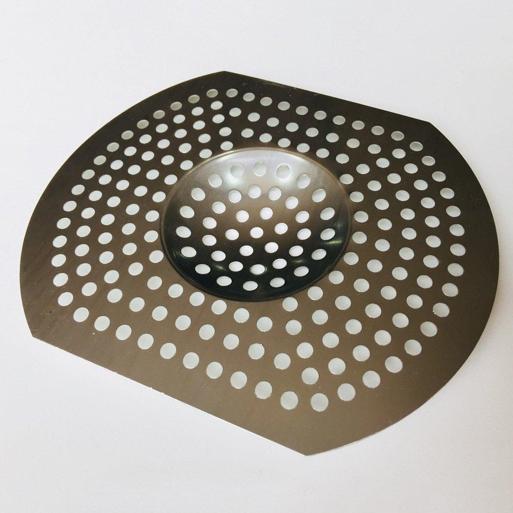 Aluminium gro/ß Free Size Silber STARE89 Abflusssieb f/ür K/üche//Badezimmer Abflusssieb