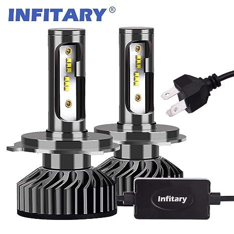 Infitary H4 9003 HB2 LED Headlight Bulbs Conversion Kits High/Low Beam Auto Headlamp Car