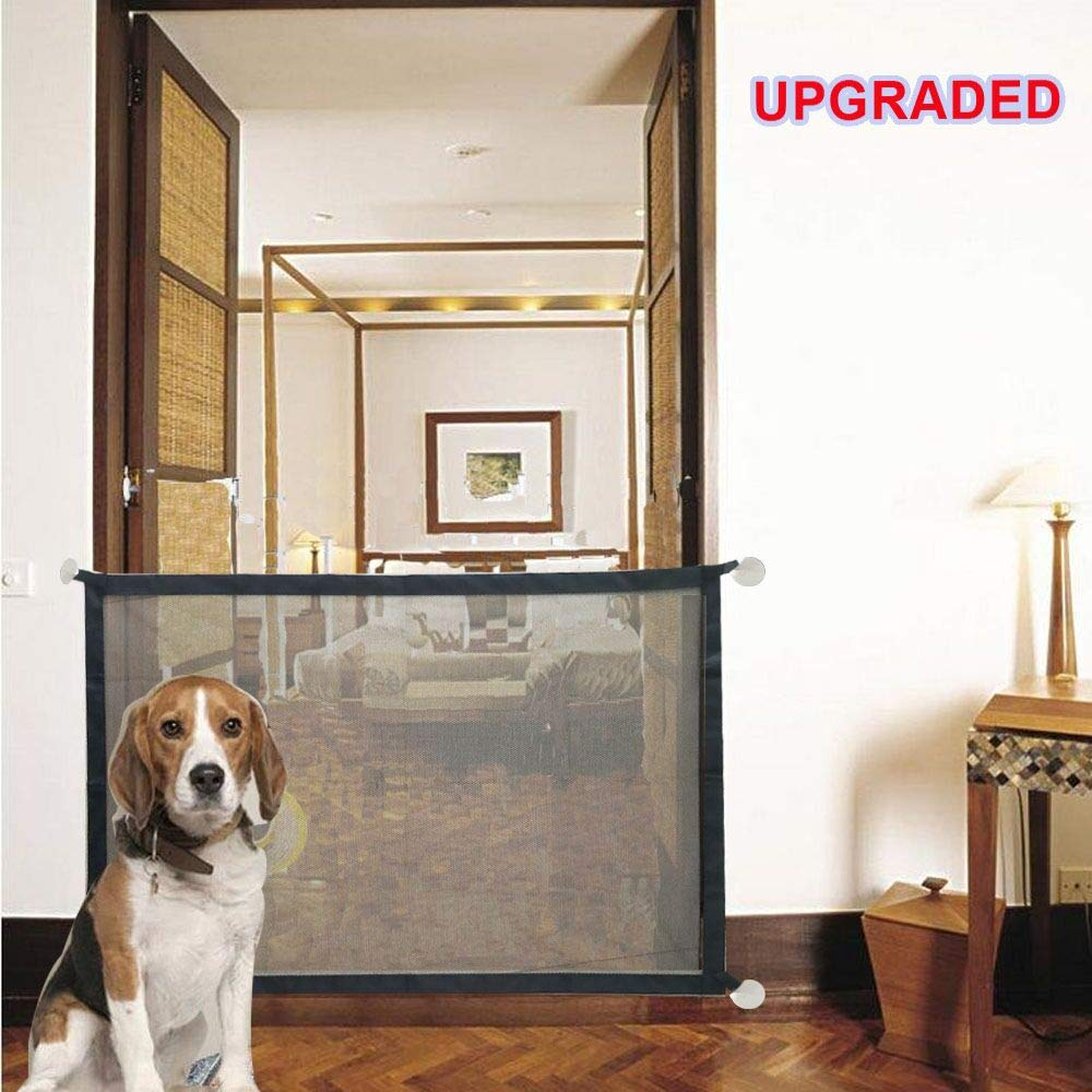 Self-Designed Upgraded Magic Gate for Dogs, Pet Folding Guard, Baby and Child Safety Gate, Portable Pet Enclosure CARETHYS
