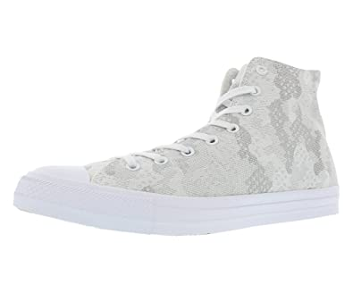6bc025053eca Converse Chuck Taylor All Star Jacquard Hi Fashion Sneaker - White - Mens -  8.5