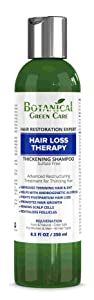 """Hair Loss Therapy"" Sulfate-Free Caffeine SHAMPOO, Alopecia Prevention and DHT Blocker. Anti-Hair Loss/Hair Growth Shampoo. Doctor Developed. NEW 2018 FORMULA!"