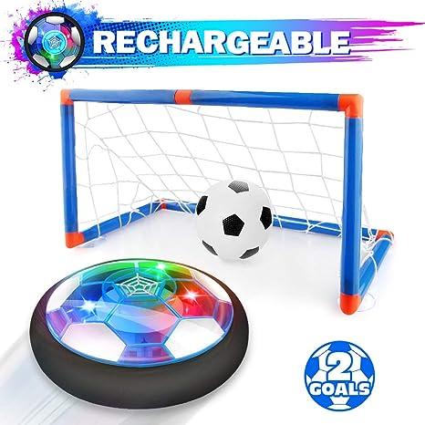 Growsland - Pelota de fútbol para niños con portería, para niños ...