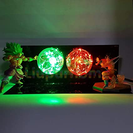 Led Night Lights Dragon Ball Z Goku Diy Led Lighting Lamp Anime Dragon Ball Z Super Saiyan Fes Dbz Son Goku God Led Night Lights Luces Navidad Lights & Lighting