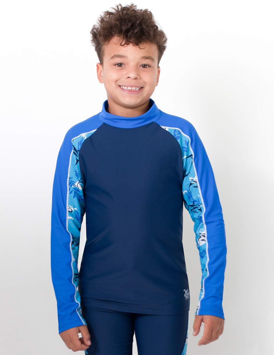 Tuga Sunwear TUBE maglietta da bagno a manica lunga con protezione UV UPF50+ Bambino