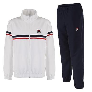 Fila Herren Bicolore F Box Trainingsanzug Gr. Medium, Weiß - Weiß ...
