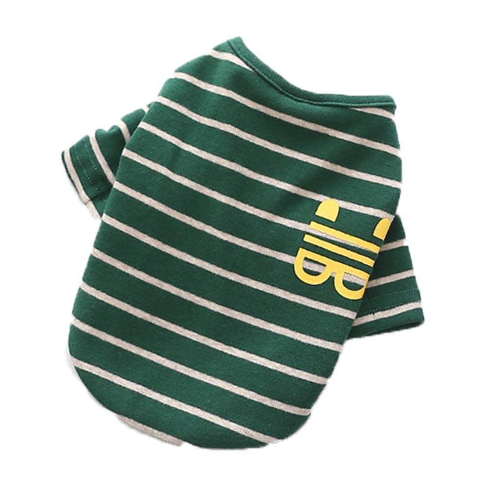 Green Large Green Large Dog Clothes pet Costume Cotton French Nano-Wool Stretch Wool Two-Legged Clothing