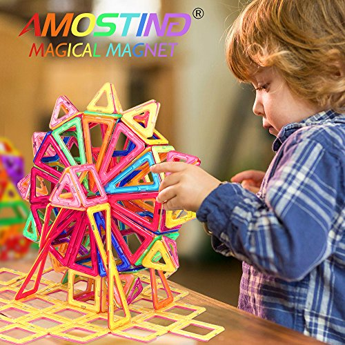 Magnetic Toys For Boys : Imported from usa magnetic blocks building set for kids