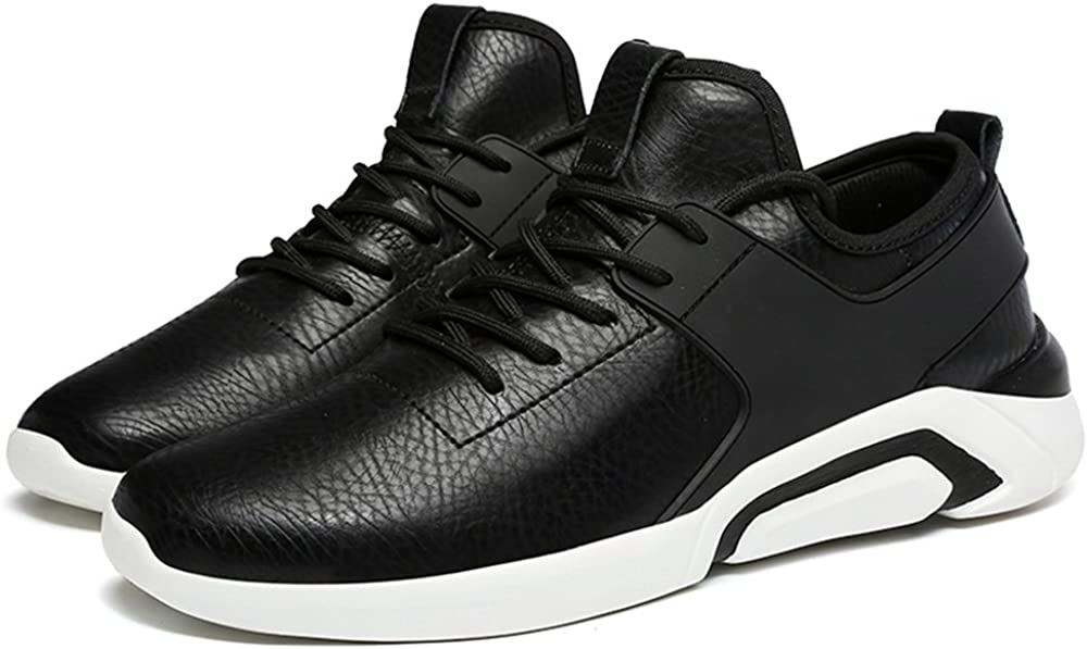 Menshoes Mens Athletic Sneakers The British Casual Style is All in Fashion with Lightweight Round Top and Low Top Running Shoes Comfortable