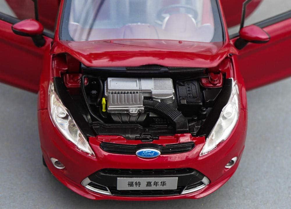 Cadeaux Et Produits Derives Doudoutu Modele De Statique 1 18 Ford Fiesta Alliage De Simulation De Modele De Modele De Moule Sous Pression Decoration De De Cadeaux Pour Les Fans De Auto Et