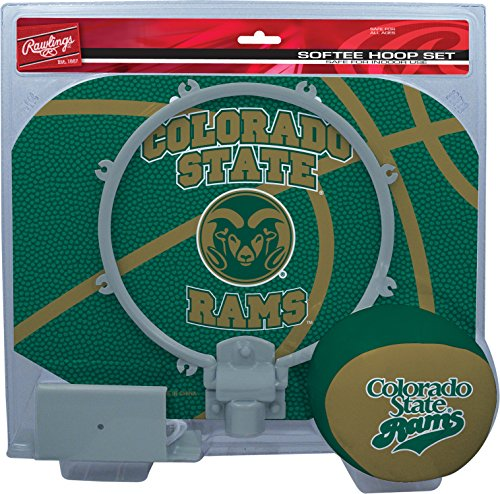 NCAA Colorado State Rams Kids Slam Dunk Hoop Set, Green, Small
