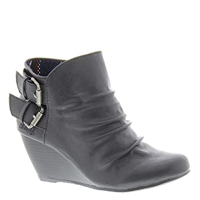 Amazon.com | Blowfish Women's Bug Black Old Ranger PU Boot 11 M | Ankle &  Bootie