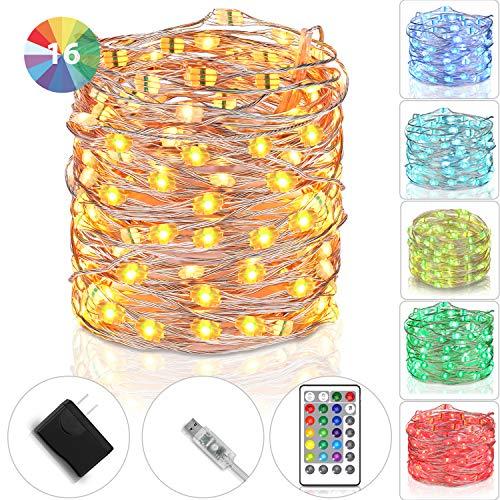 100 Led Christmas Light String