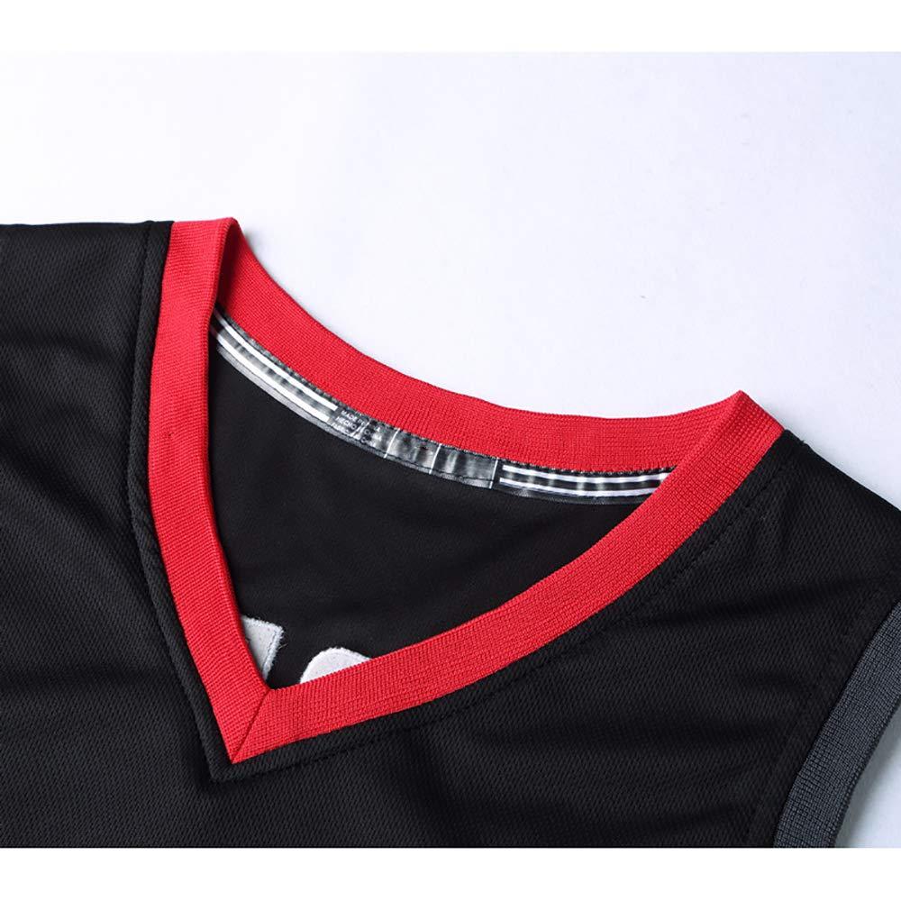 Sport-Jerseys Cohetes Equipo Jugador No 3 NuevoTemporada Jersey Bordado Baloncesto Uniforme Deporte ChalecoTraje