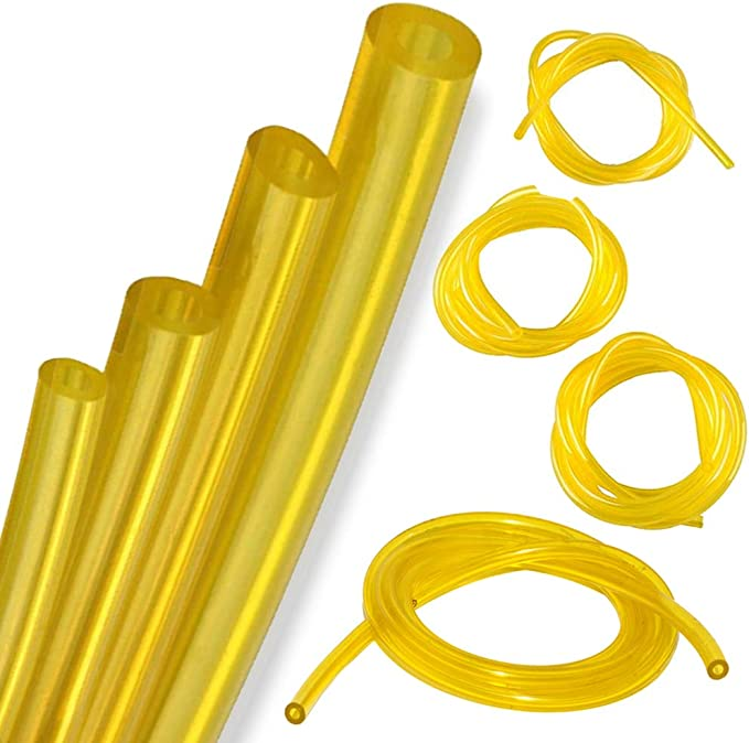 Petrol Fuel Gas Line Tube Hose Tubing 5-Ft 4 Sizes Weedeater Chainsaw Trimmer