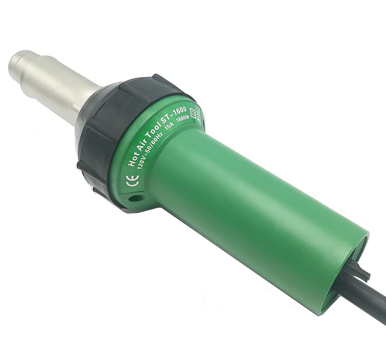 cgoldenwall Handheld Aire Caliente Plástico Soldador Pistola calor de soldadura de vinilo plástico Rod Gas Soldadura Máquina htl-d09 220 V/110 V 1600 W: ...