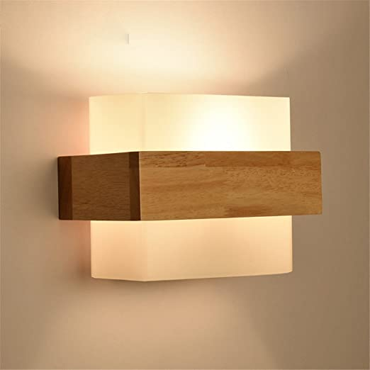 Zhuoyuan modern and minimalist led wooden wall lights bedroom bed zhuoyuan modern and minimalist led wooden wall lights bedroom bed lamps japanese creative study living room mozeypictures Image collections