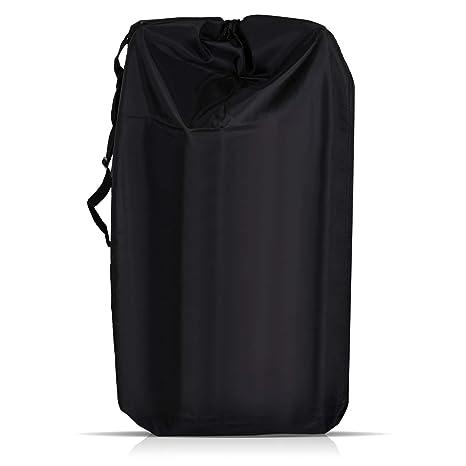 LIHAO Universal Bolsa de Transporte Cochecito Bebé Bolsa Impermeable de Viaje para Avión (Negro)
