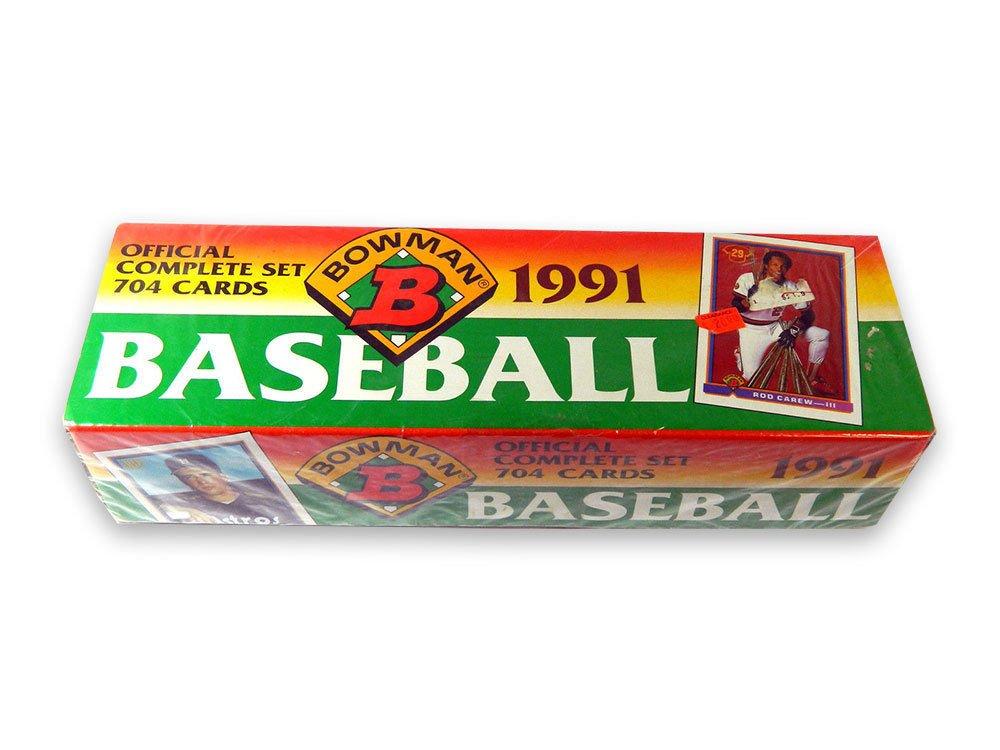 1991 Bowman Retail Set