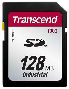 Transcend SD100I (Tarjeta de memoria 128 MB, Secure Digital ...
