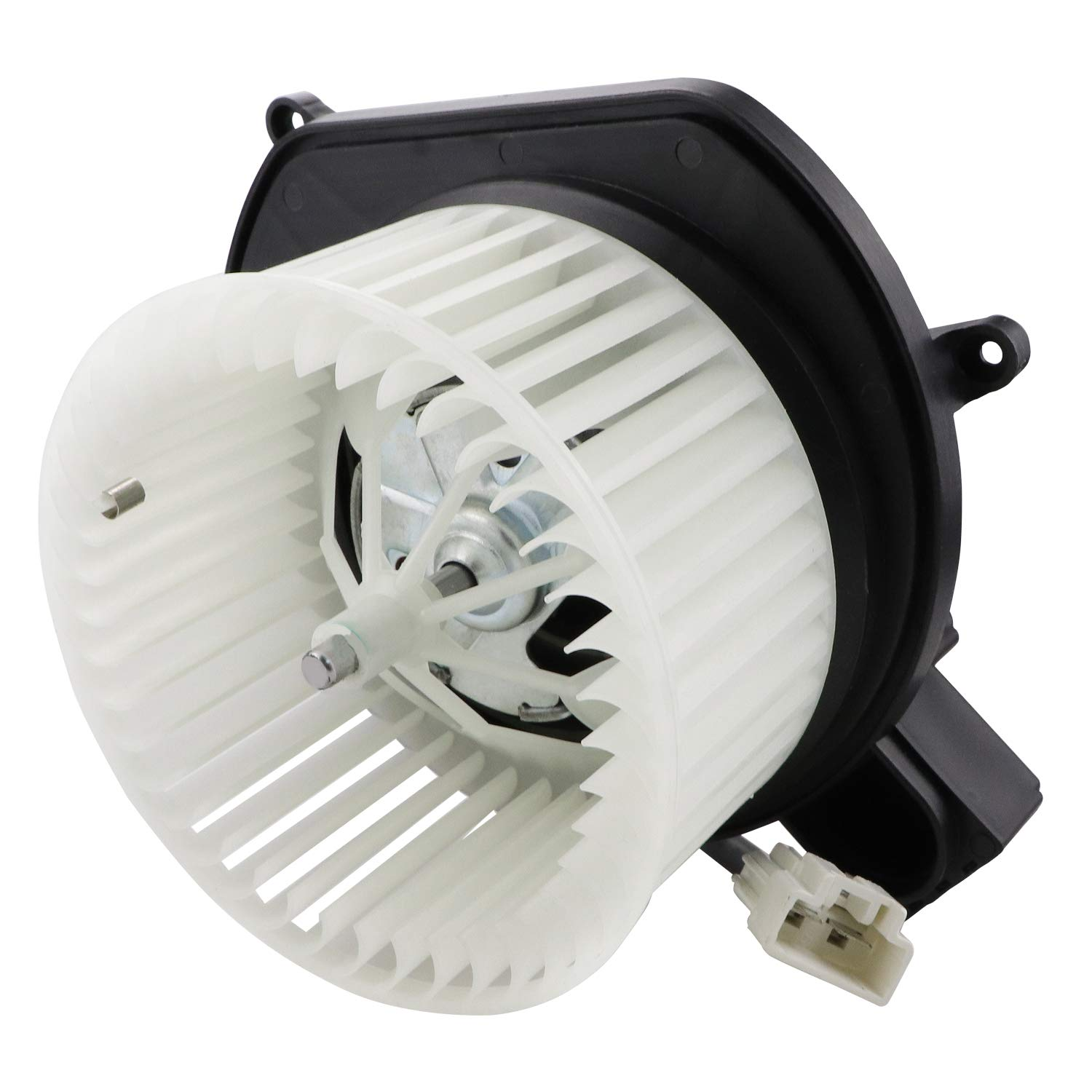 HVAC Blower Motor Assembly 700255 68003996AA 68038826AB 75860 75770 PM9379 6552616 Heater Blower Motor with Fan Cage for 2007-2011 Dodge Nitro; 2008-2012 Jeep Liberty