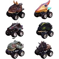 ZJQY Pull Back Dinosaur Toy Cars