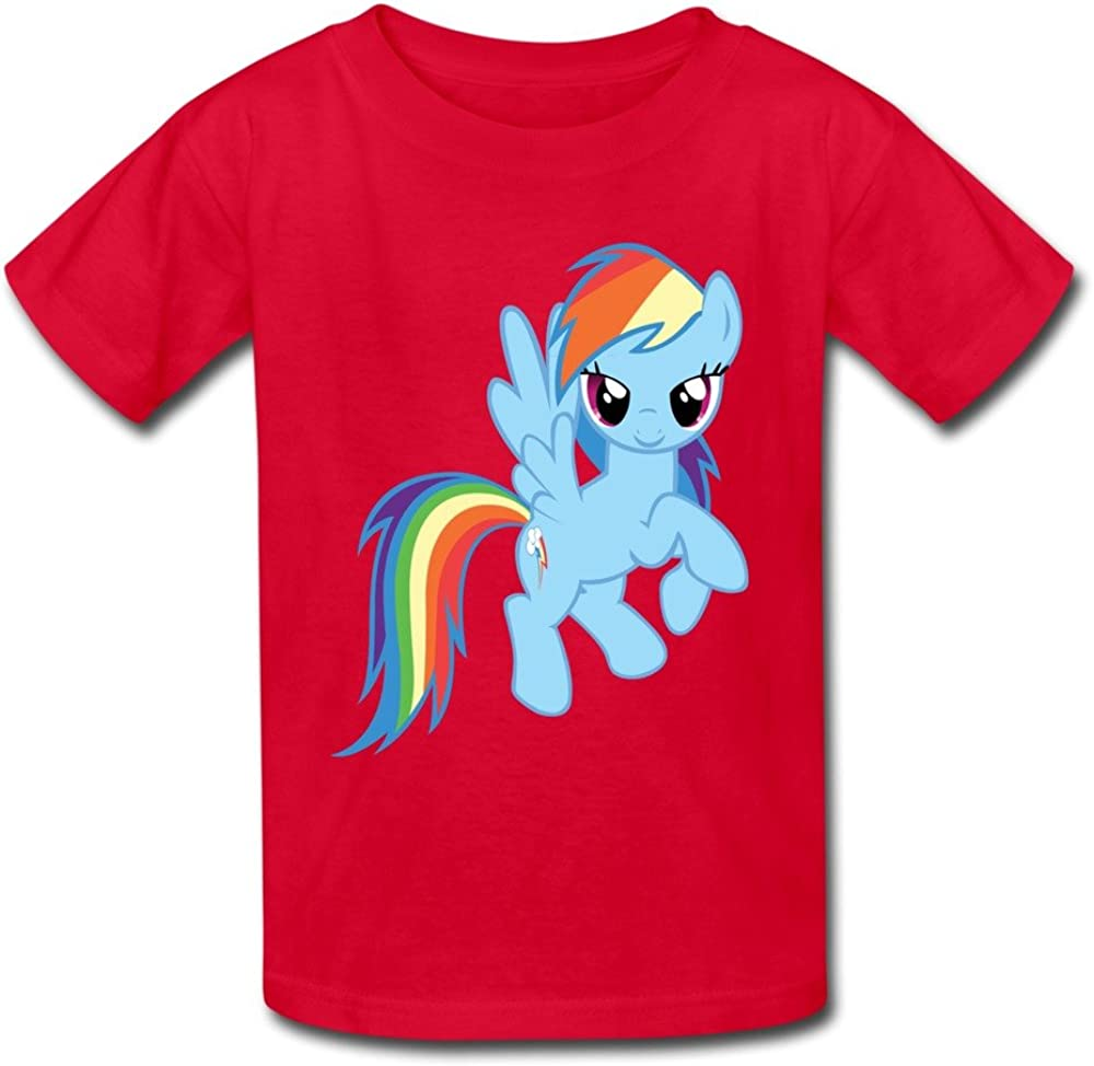 Kid's Funny My Little Pony Rainbow Dash Desktop 1390x1708 Wallpaper 1024310 T-Shirts by Mjensen