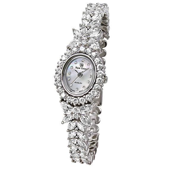 Joya de la corona de la mujer real reloj - Analógico Cuarzo 2527b: Amazon.es: Relojes