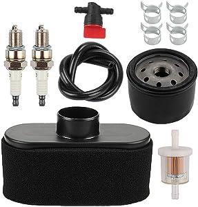 Milttor 11013-7049 11013-7047 Air Cleaner 11013-7046 Pre Filter 49065-7007 Oil Filter Fit Kawasaki 99999-0384 FR651V FR691V FR730V FS481V FS541V FS600V FS651V FS691V FS730V Lawn Mower