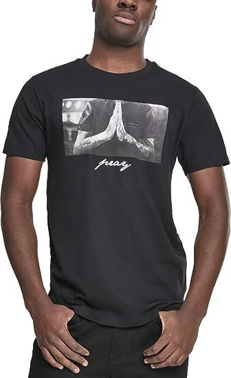 Urban Classic T Shirt Pray Tee MT157, color:black;size:M