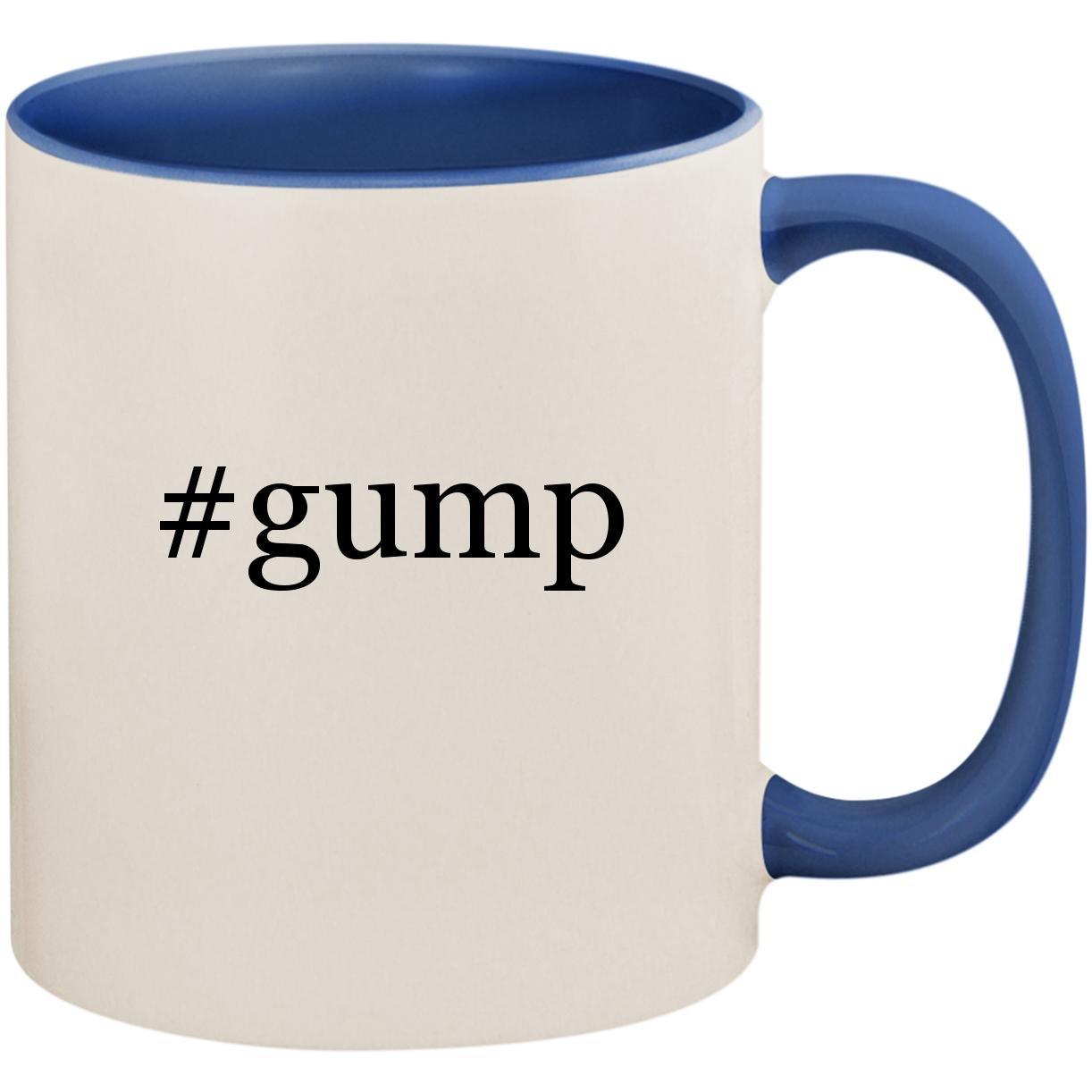 # Gump – 11オンスセラミックColored内側とハンドルコーヒーMug Cup B07FLYYFCC Cambridge Blue