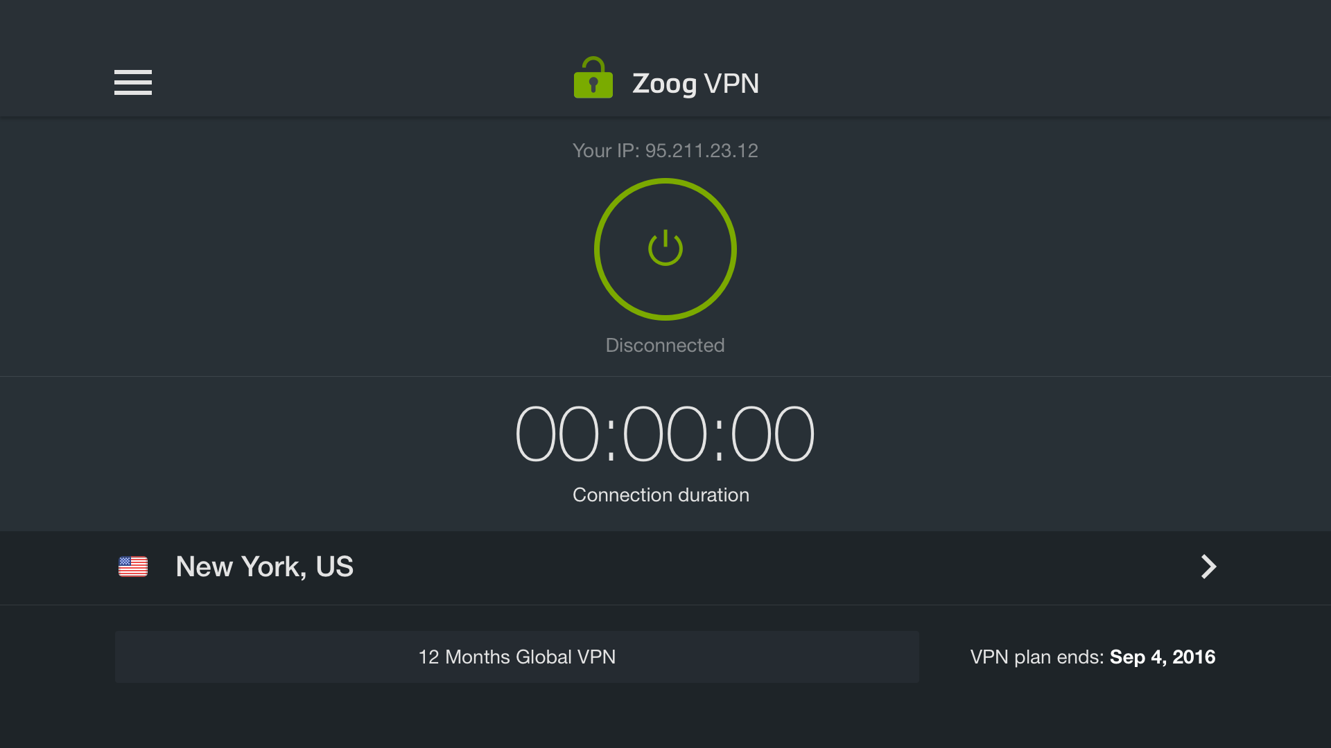 Zoog VPN - Internet freedom, security and privacy