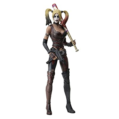 NECA Arkham City Harley Quinn Action Figure (1/4 Scale): Toys & Games