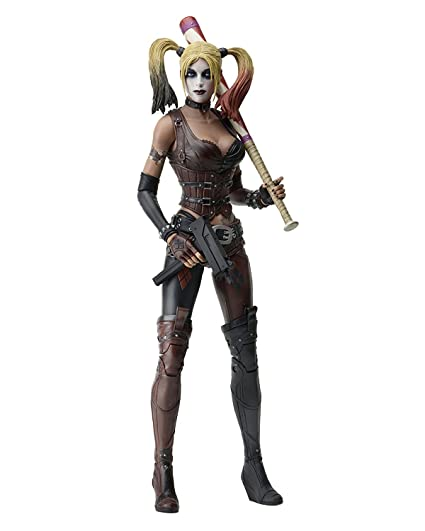 b3c55bd8170e Image Unavailable. Image not available for. Color  NECA Arkham City Harley  Quinn ...