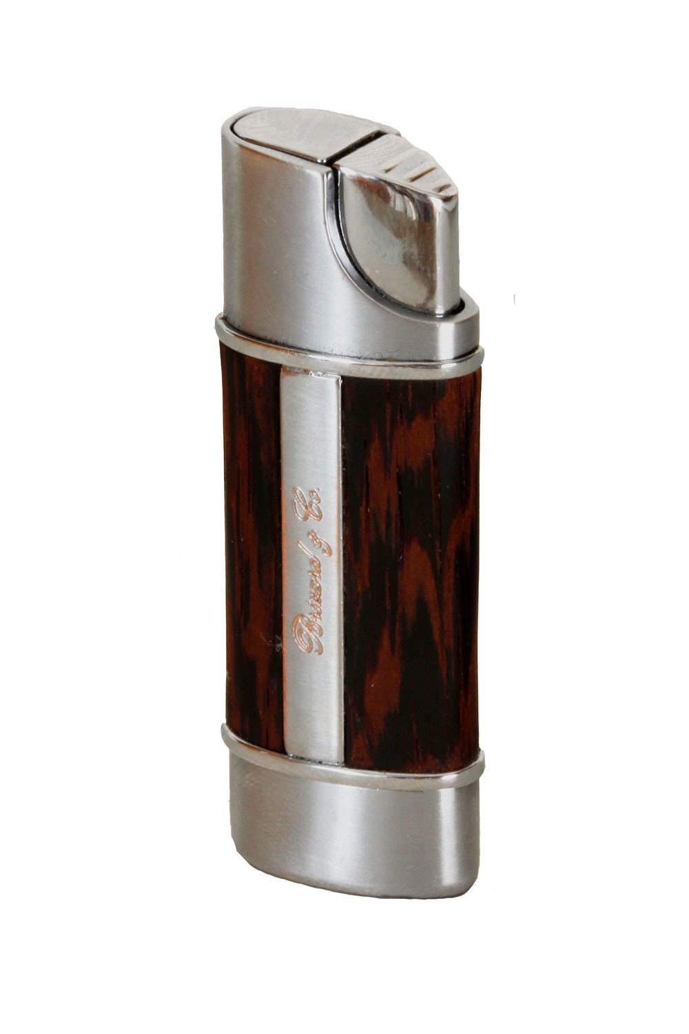 Brizard & Co. The Nano Exotic Wenge Single Torch Cigar Lighters