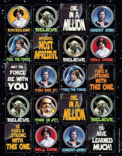 Eureka Star Wars Stickers, Theme (658101)