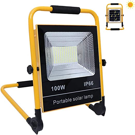 Foco Led Proyector Portatil 100W 8000 LM, LED Proyector De ...